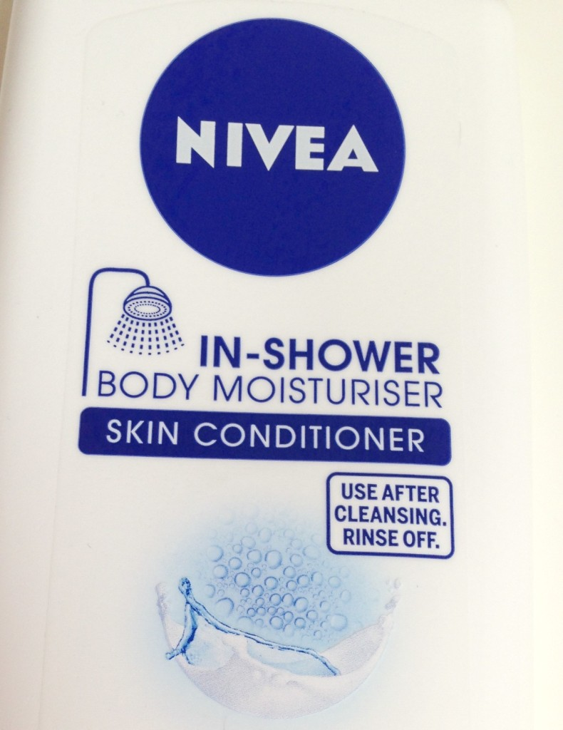 nivea in shower body moisturiser