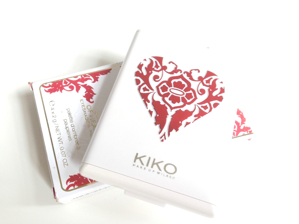 KIKO Queen Of Hearts Eyeshadow Palette