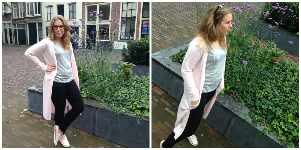 Outfit of the Day: Pink Vest