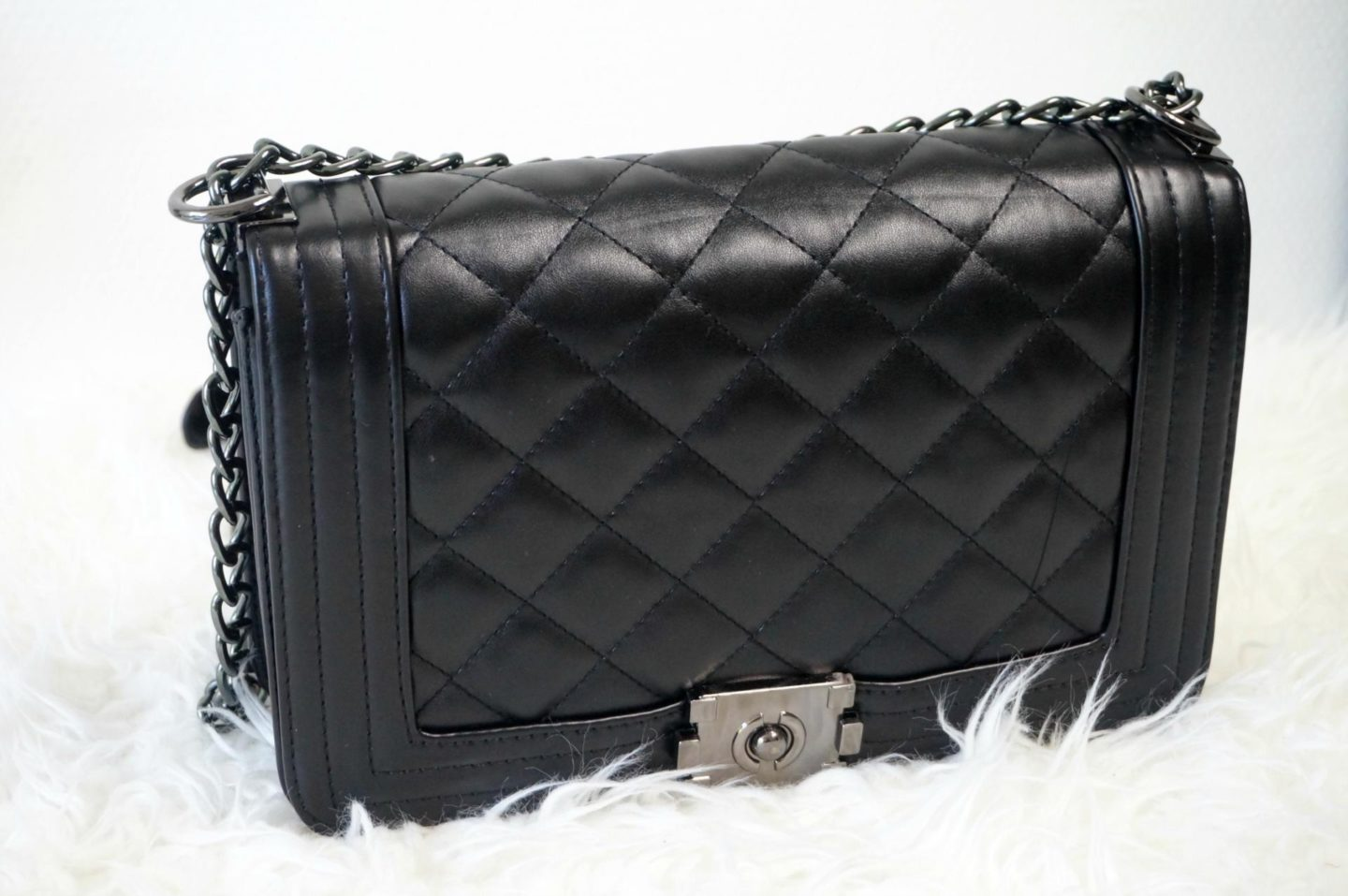 Chanel inspired: Quilted Chain bag