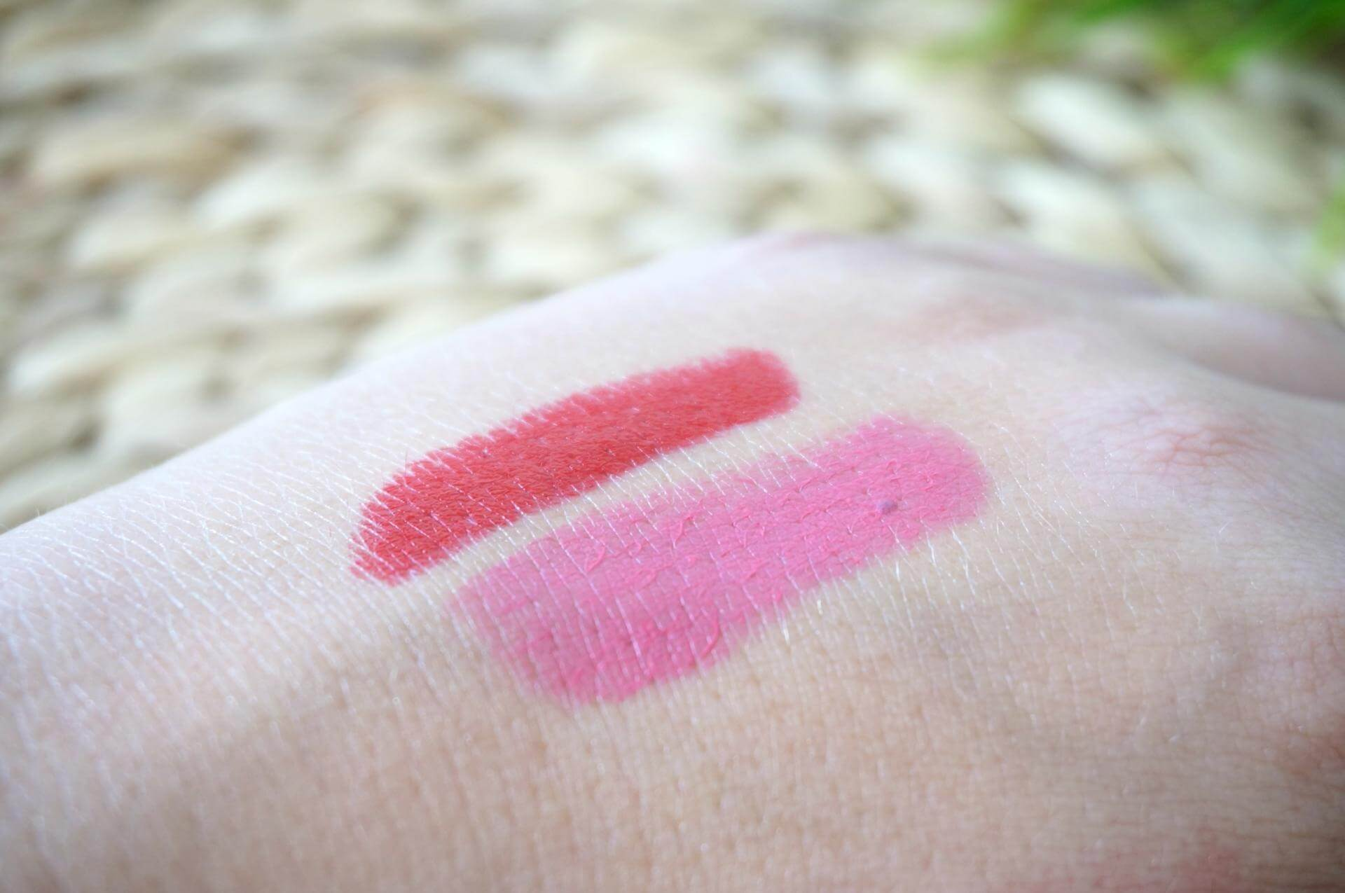 Etos color care lipsticks