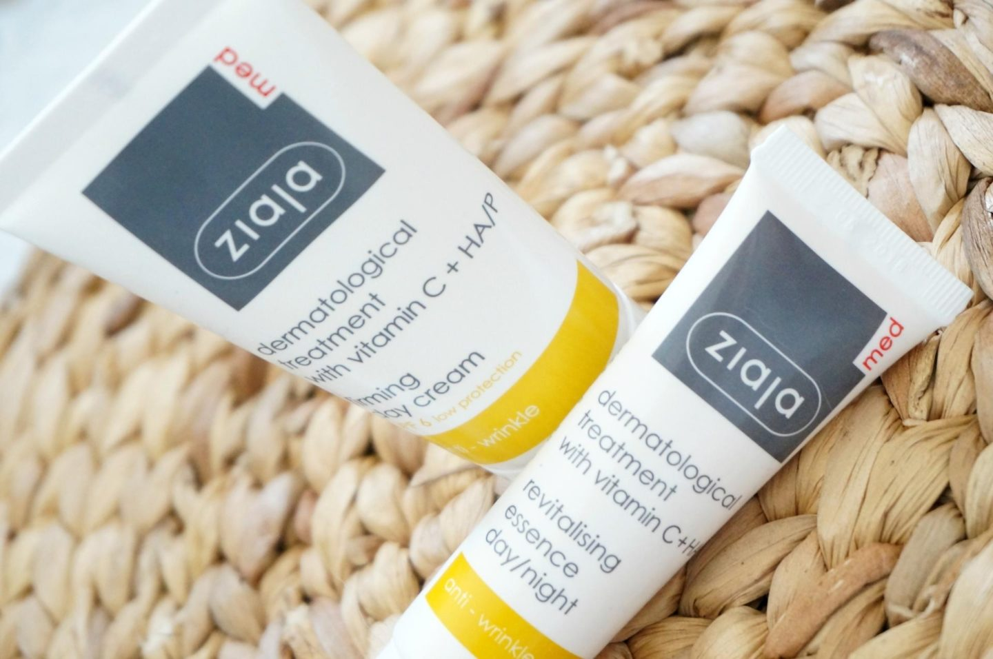 ZiajaMED skincare producten