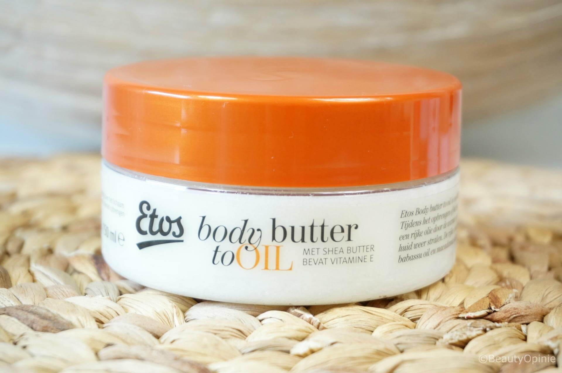 Etos Body Butter to Oil