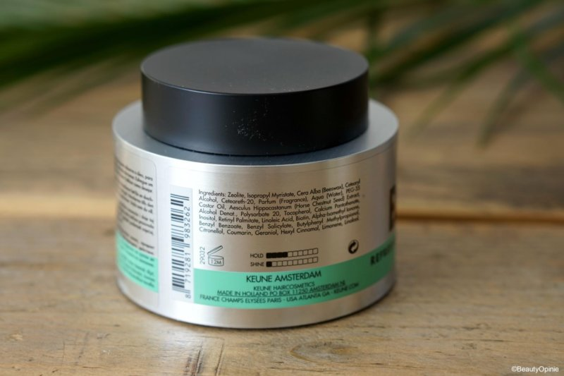 Ingredienten Keune Blend Refreshing Balm