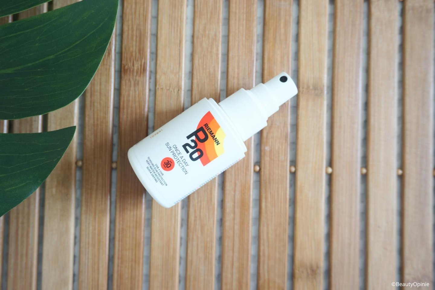 Once a day sun protection van P20