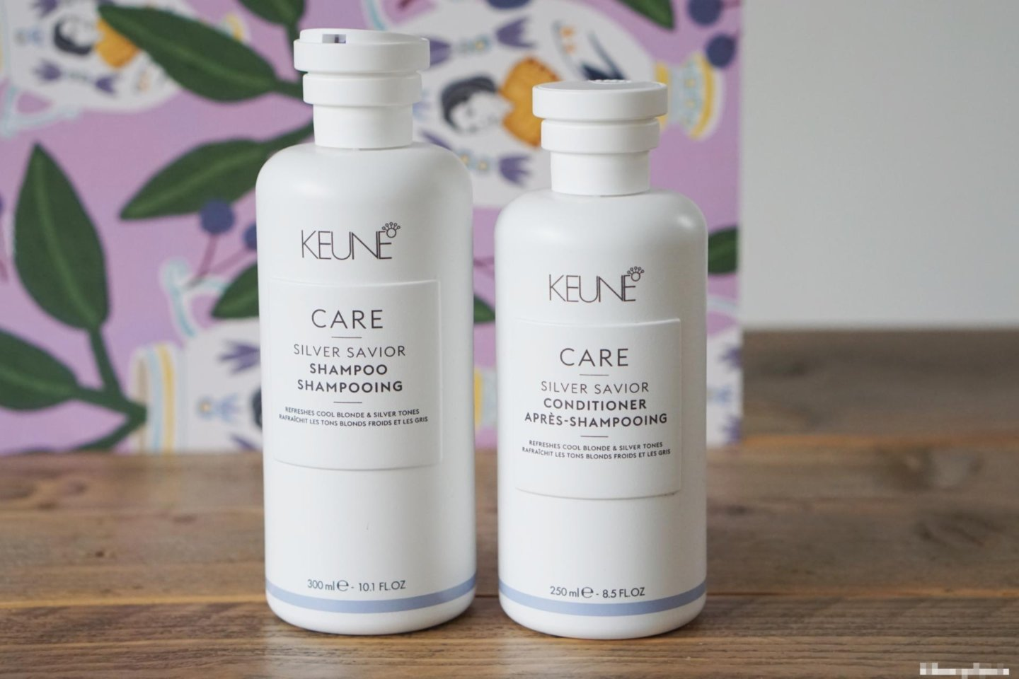 Review | De zilvershampoo en conditioner van Keune