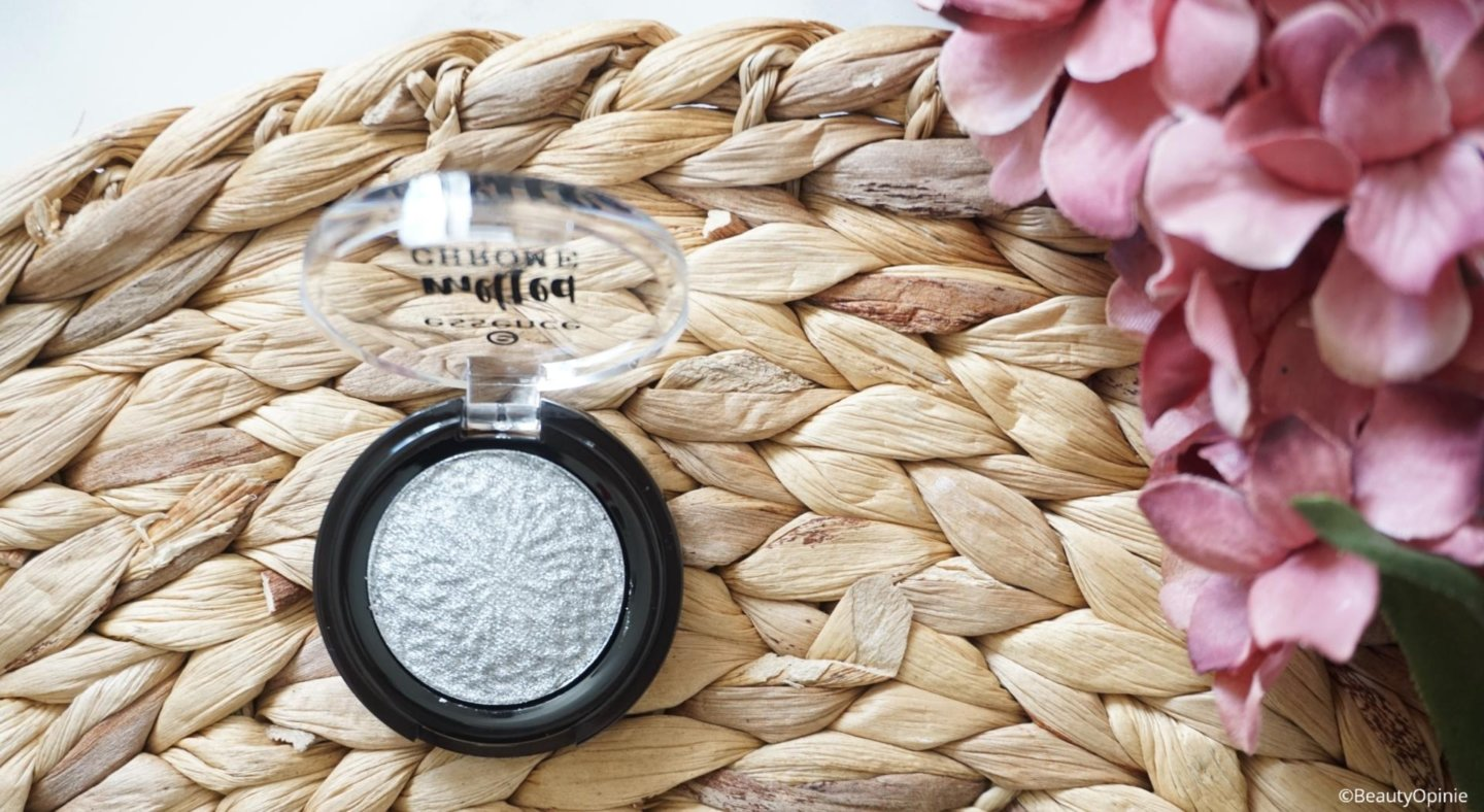review essence melted chrome eyeshadow