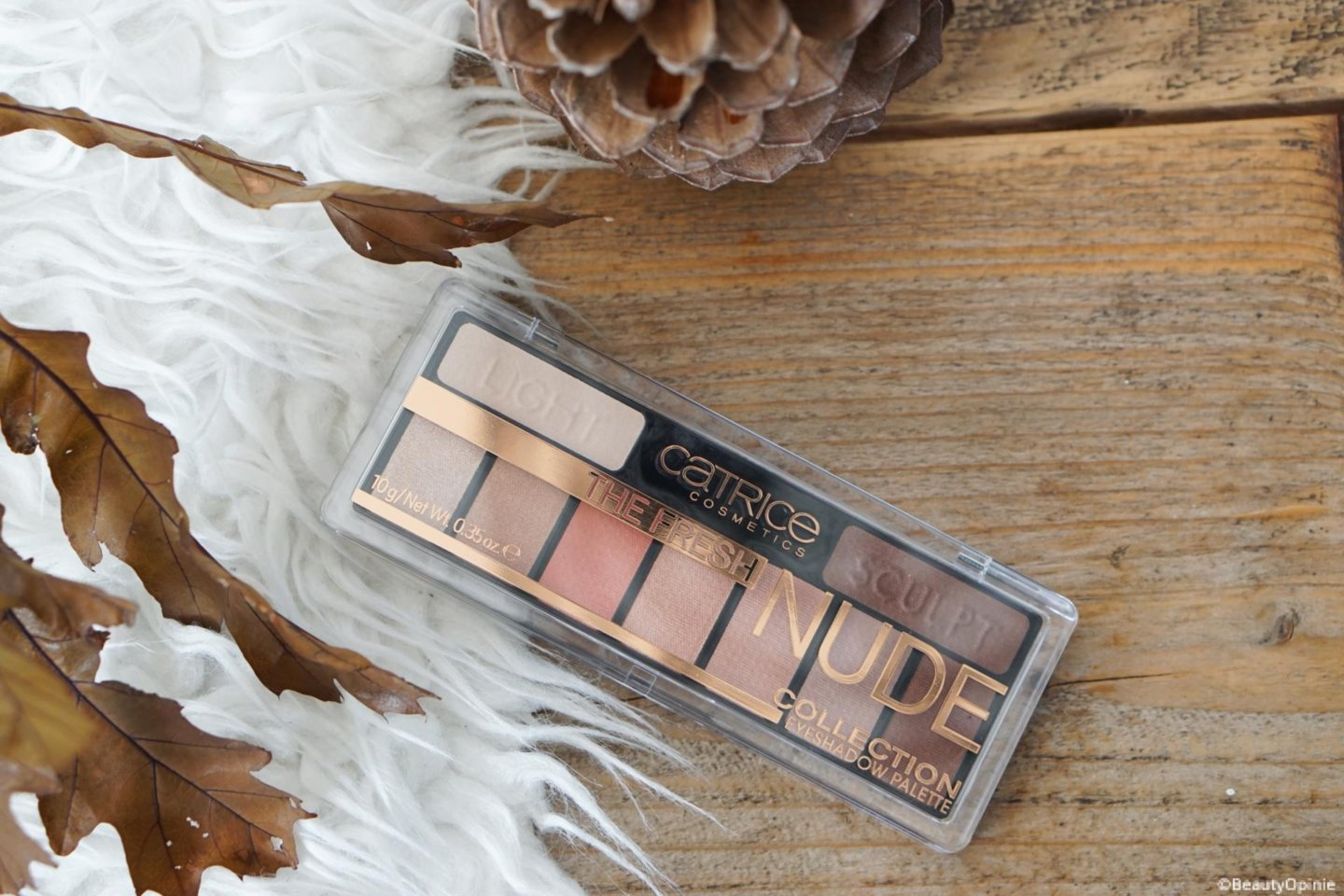 fresh nude collection oogschaduwpalette review