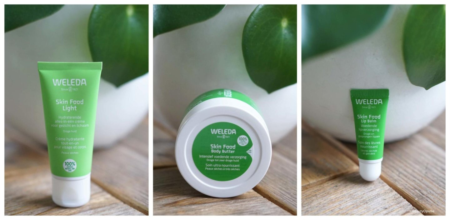Review Weleda Skin Food driegangenmenu