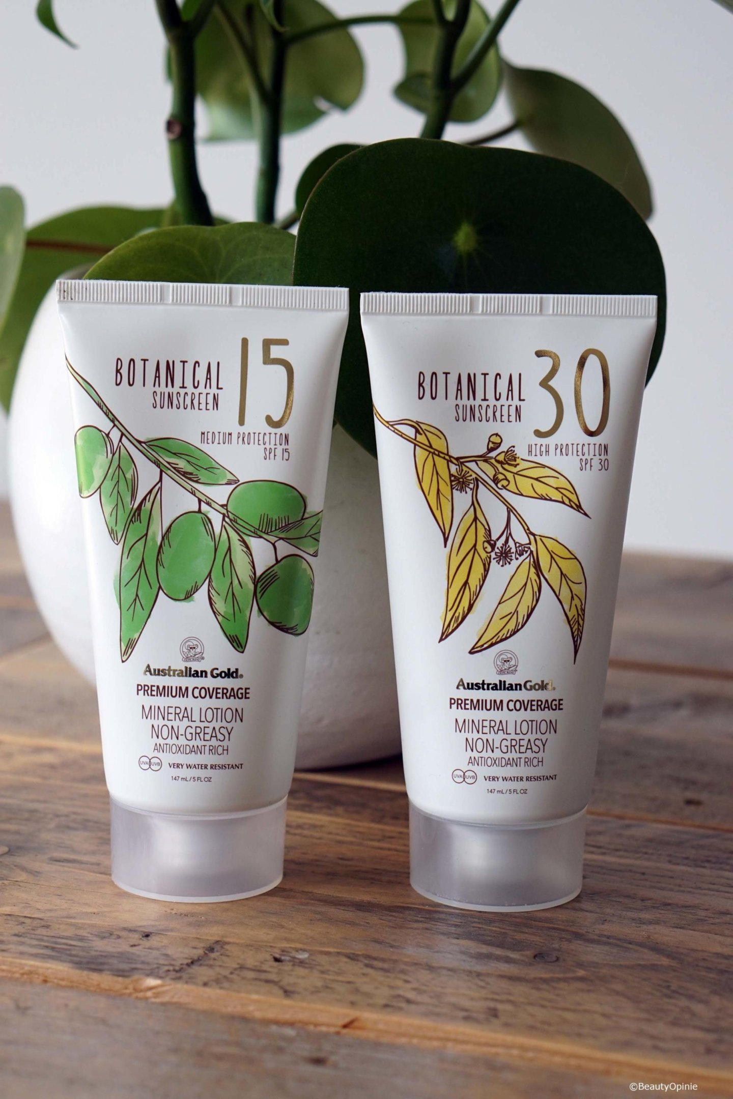 Review Australian Gold Botanical lotions