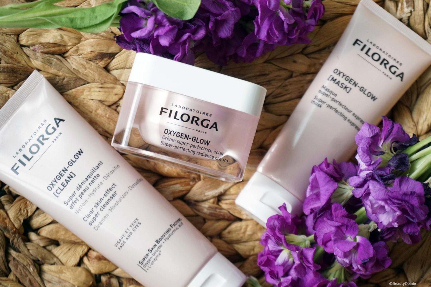 review filorga oxygen glow producten