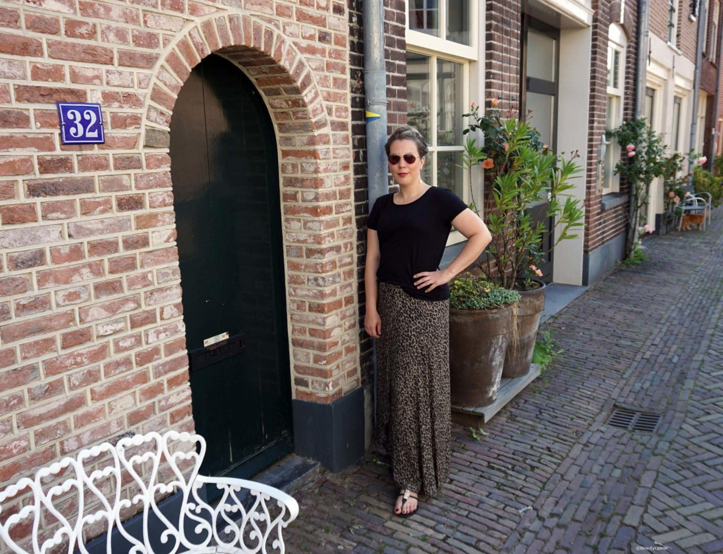zomerse outfit of the day met rok van costes