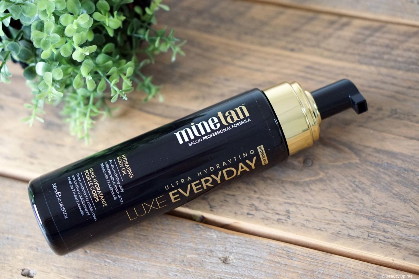 Review MineTan Luxe Oil