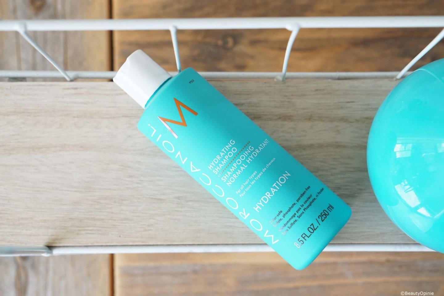 review Moroccanoil hydrating shampo