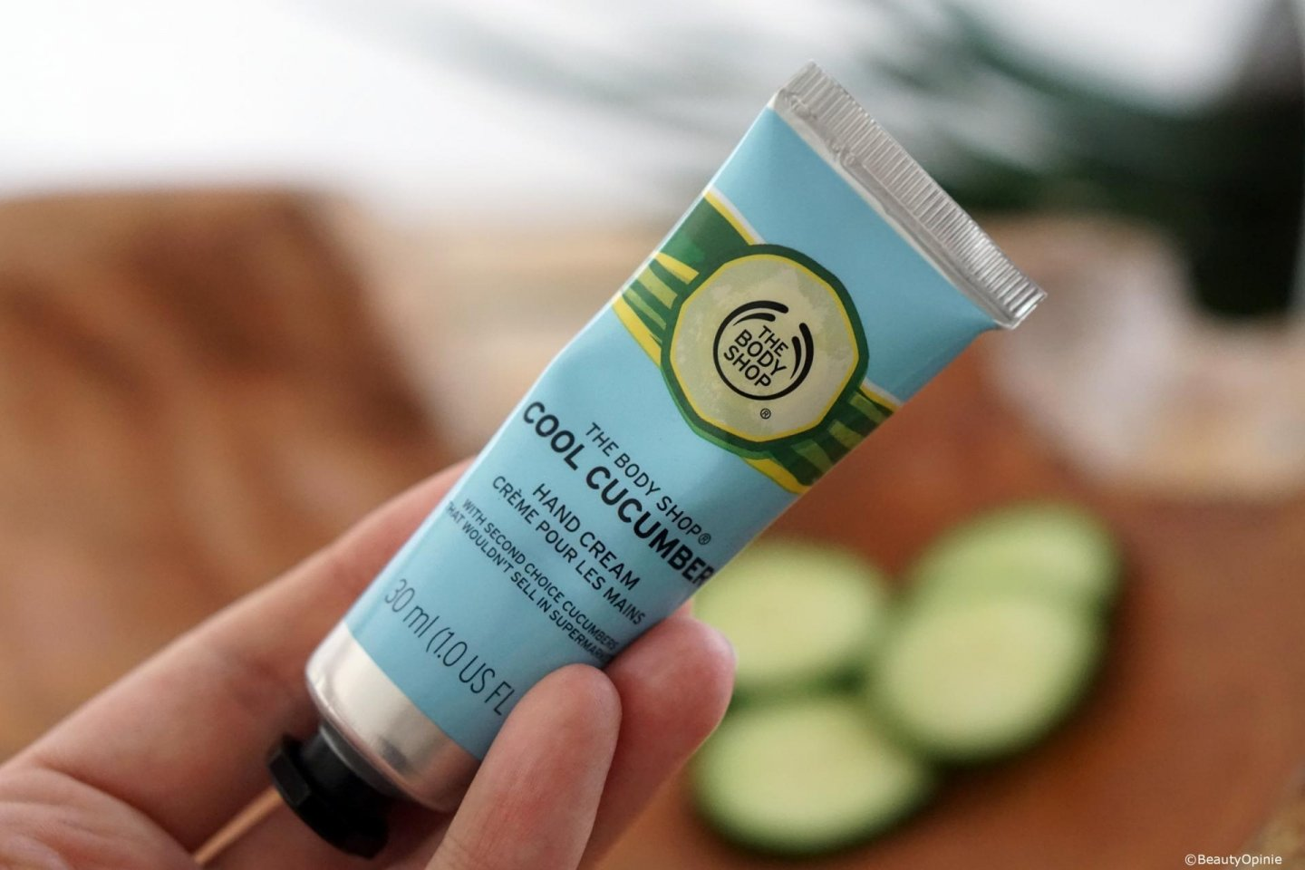 Cool Cucumber Hand Cream the body shop review
