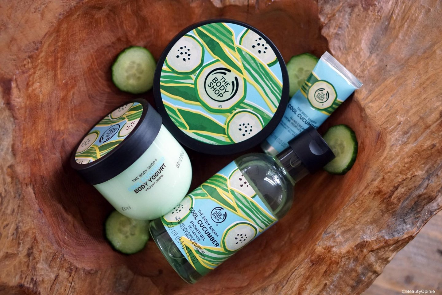 Cool Cucumber the body shop review