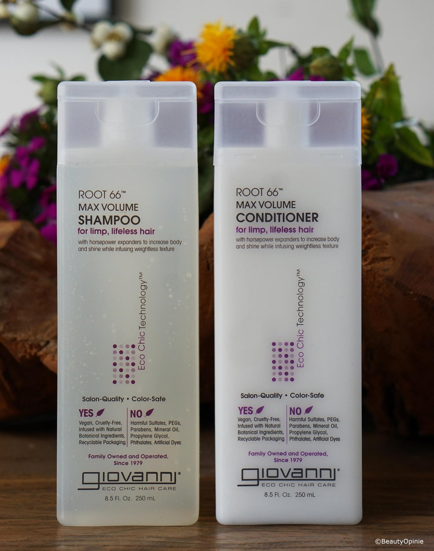 Giovanni Root 66 shampoo en conditioner review