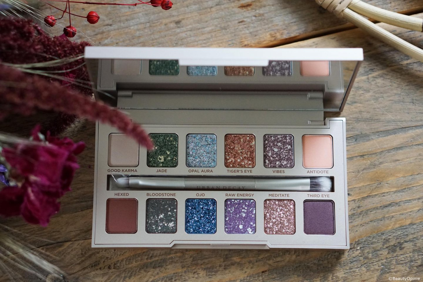 Urban Decay Stoned collection oogschaduspalette review