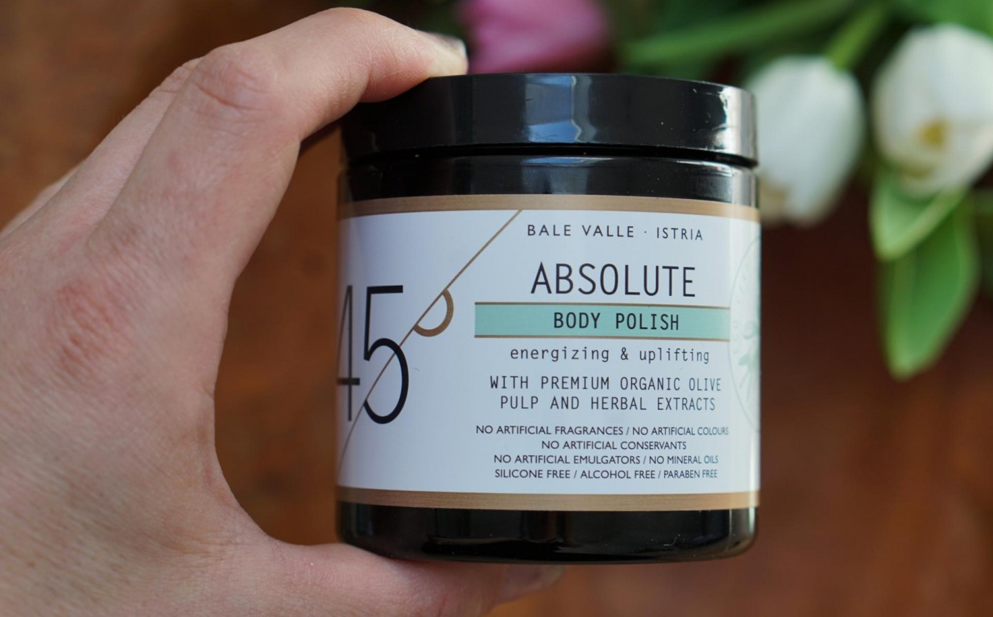 Molto bella 45 degrees bodypolish review