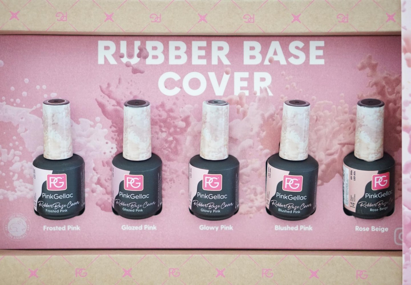 Pink Gellac Rubber Base Cover review